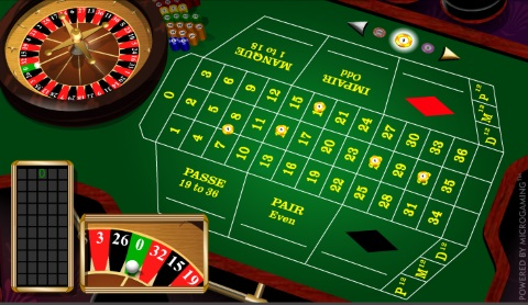 french roulette online free