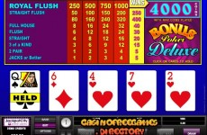 Bonus-Deluxe-Video-Poker