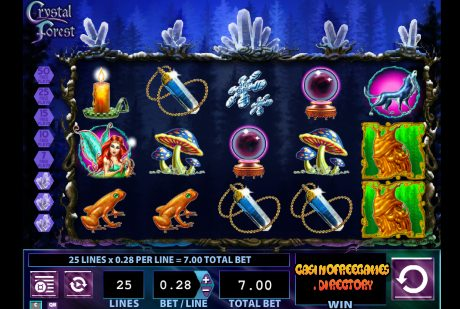 Crystal Forest Casino Game