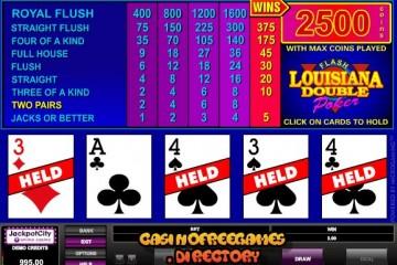 Louisiana-Double-Video-Poker