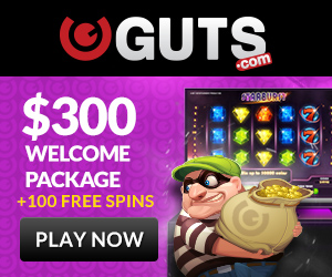Guts Welcome Bonus