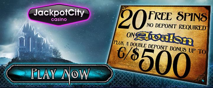 jackpot city casino Bonus