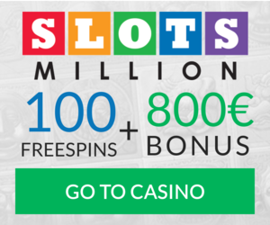Slots Million Welcome Bonus