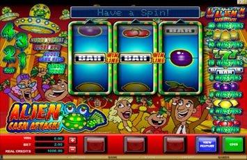Alien Cash Attack Slot