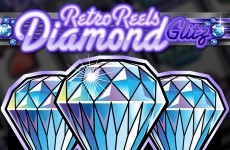 Retro Reels Diamond Glitz Slot