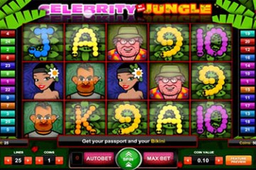 Celebrity in the Jungle slot - 1x2 Gaming Slots