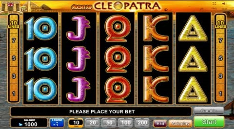 cleopatra online slot twist game casino