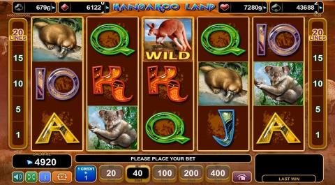 safe online casino kangaroo land