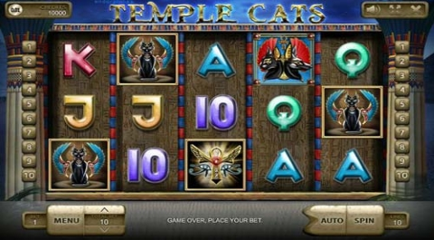 Temple Cats Slot|Endorphina Slots Online | Free Casino Games