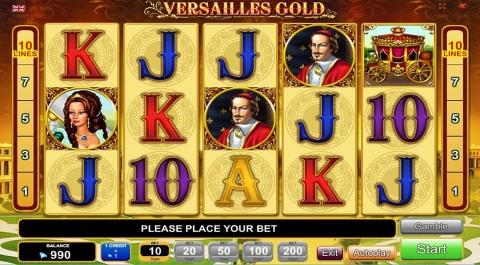 Versailles Gold Slot - Spielen Sie diesen Video-Slot online