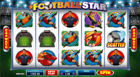 Football Slot - Free Online Proprietary Games Slots Game