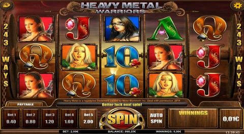 Heavy Metal Slot Machine - Free to Play Online Demo Game