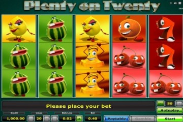 plenty-on-twenty-slot