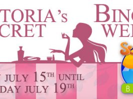 Victoria's Secret Bingo Week Tournament