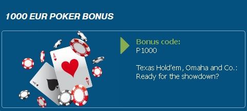 bonus bet at home poker
