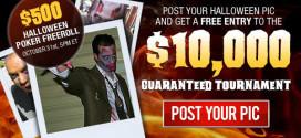 Halloween Freeroll at BetOnline Poker