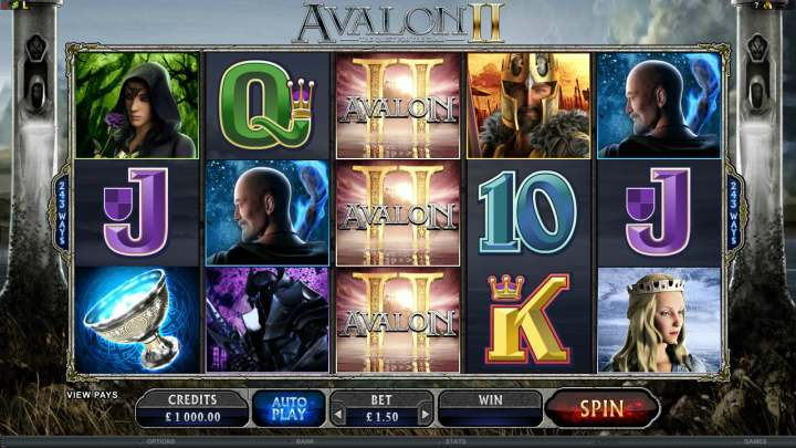 Avalon Slot Machine by Microgaming – Play for Free Online
