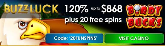 Buzzluck No Deposit Bonus