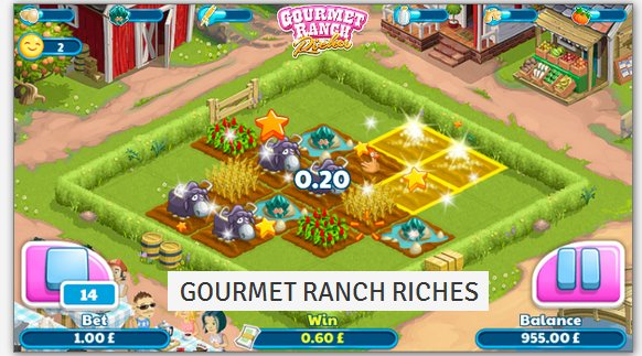 Gourmet Ranch Riches Slots - Play the Online Slot for Free