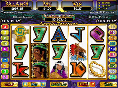 Exciting bonus up to 850 for new players at Aztec Riches Casino