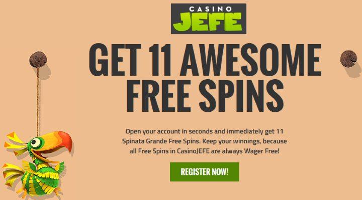 casinoJEFE-freespins