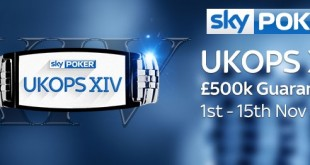 Sky Poker's UK Online Poker Series It's back and bigger than ever!