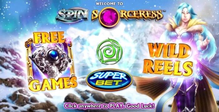 Spin-Sorceress-slot