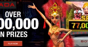 Bovada 's 77 Million Slot Spins Race: Over $100,000 in Prizes at Bovada Casino