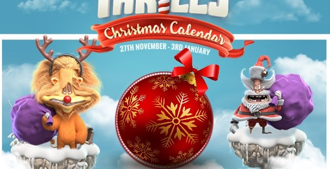 Thrills Casino bonus Monday November 30 Any Deposit = Free Spins