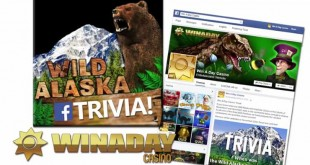 Trivia Contest Welcomes WinADay Casino 4000th Facebook Friend