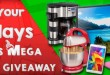 Don't miss out on your chance to win one of these fantastic Christmas gifts in BingoFest festive Christmas Giveaway