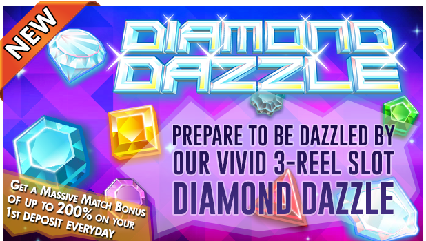 Diamond Dazzle Slot Machine - Play for Free Online