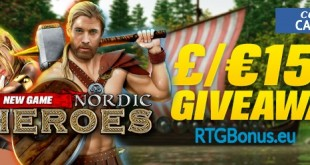 Coral presents Nordic Heroes Slot with a £/€15k Prize Draw
