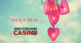 Love is in the air at Amsterdams Casino