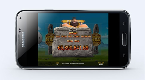 Playtech game sets record UK mobile jackpot win