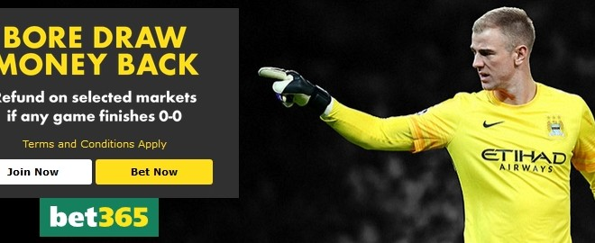 Soccer Offers at bet365