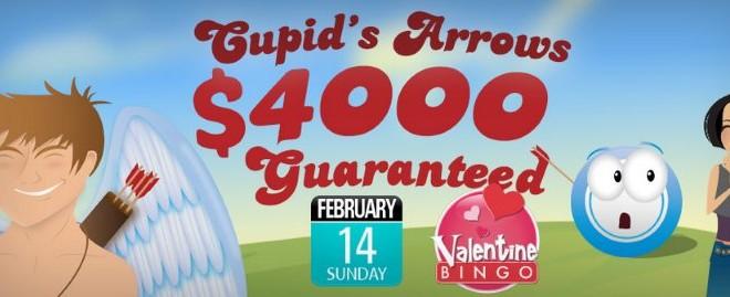 $4,000 Guaranteed Cupid's Arrows