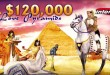 Romantic Cleopatra Inspires $120,000 Love Pyramid Casino Bonuses at Intertops Casino