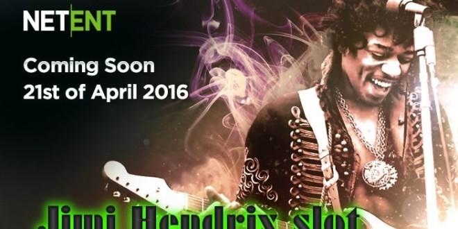 NetEnt launches new Jimi Hendrix slot