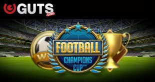 Guts Casino Free Spins offer on Football: Champions Cup Slot