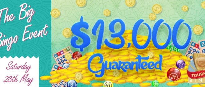 CyberBingo $13,000 Guaranteed Event Guaranteed Big Bingo Event