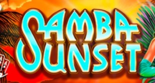 The new Game from RTG Samba Sunset Slot is live!