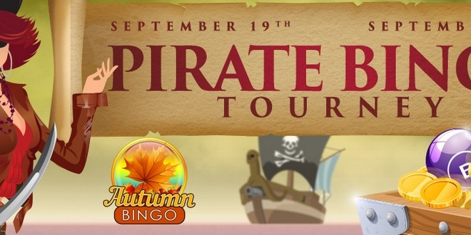 Pirate Bingo Tourney at Cyberbingo