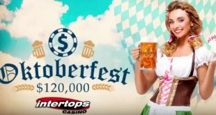 Frequent Players Win up to $500 Weekly during $120,000 Oktoberfest Bonus Event at Intertops Casino