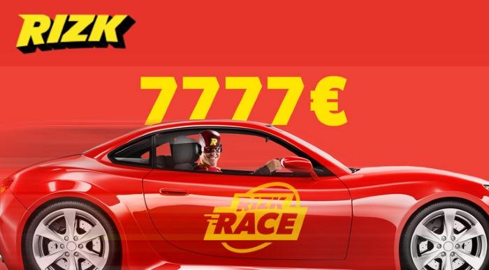 Rizk Race - Rizk Online Casino Promotions - September 2016