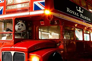 Play Royal Panda Live Roulette, win a luxury London weekend break