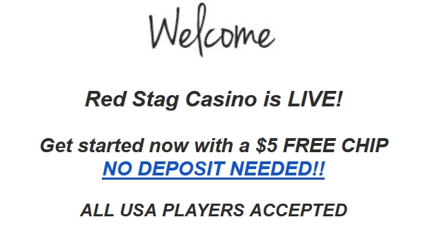 red stag casino free chip november 2016