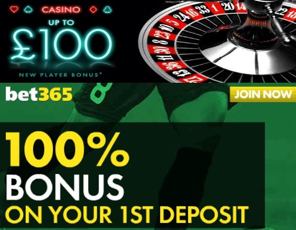 bet365 100 bonus