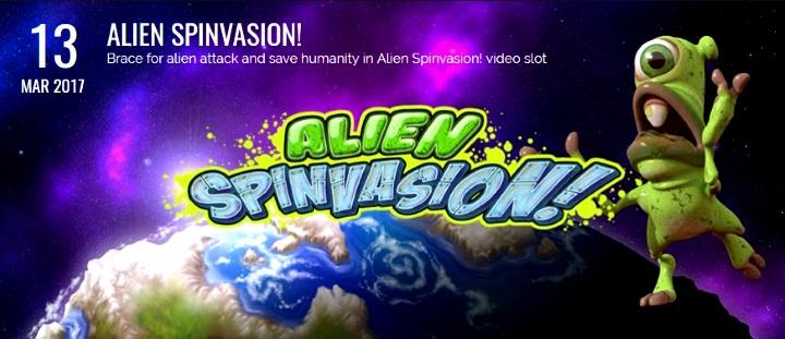 Alien Spinvasion slot