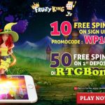 fruity king free spins